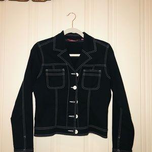 SO Real Black Cotton Jacket Size L